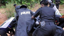 Illustrative Photo of a group of Nigerian Police officers (Bukchris)