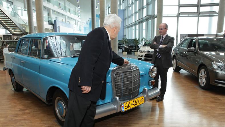 Oto najstarszy Mercedes w Polsce! Zepsuł się tylko dwa razy