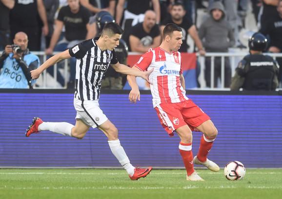 Fudbaleri Partizana nadigrali su aktuelnog šampiona u 161. derbiju, pa su pobedili rezultatom 2:0