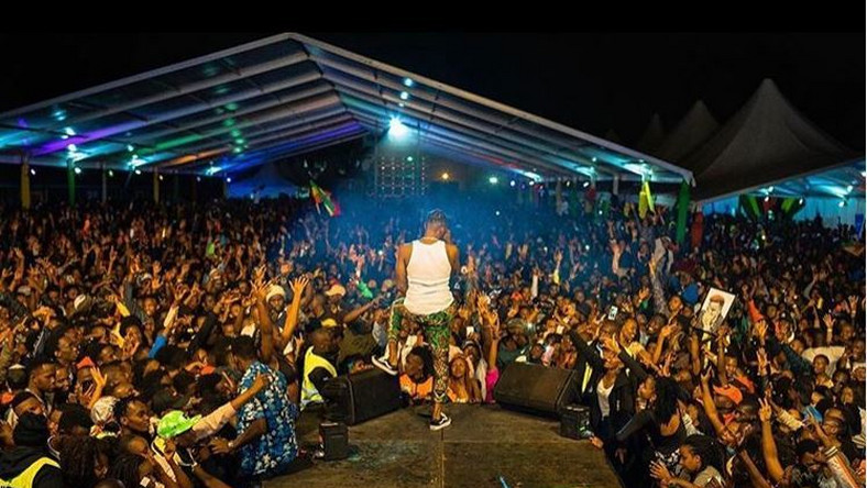 Jamaican dancehall star Konshens brings Nairobi to standstill with electrifying performance