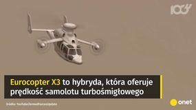 Eurocopter X3 - najszybszy helikopter świata