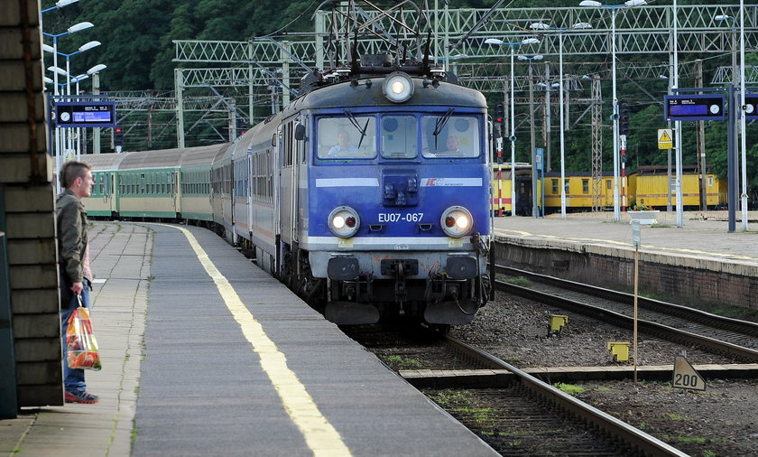 opóźniony pociąg do świnoujścia