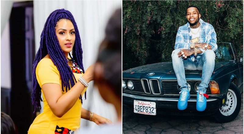 Twitter drags Juliet Ibrahim for calling Africans beggars on Tory Lanez' Instagram live