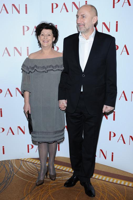 Dorota Kulak con su esposo