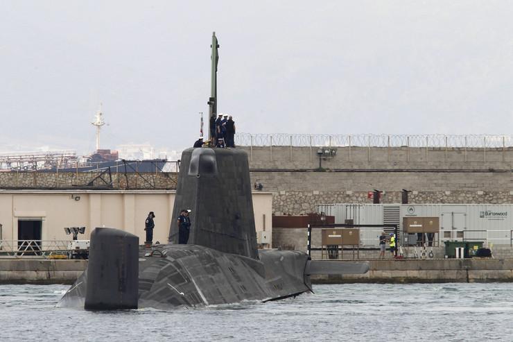 Britanska podmornica, EPA -  CARRASCO RAGEL