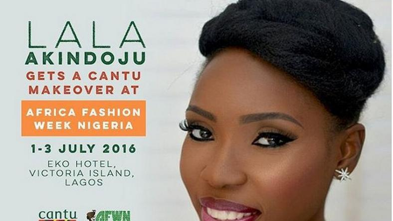Lala Akindoju to get a Cantu makeover at the AFWN 2016