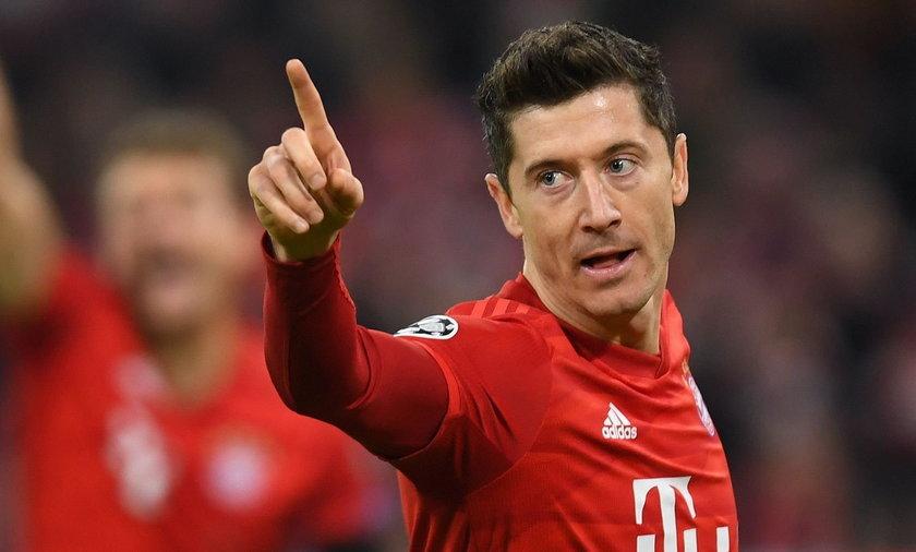 Robert Lewandowski zdobył dwie bramki w meczu z Werder