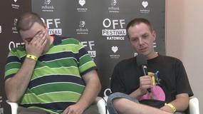 OFF Festival 2012 - wywiad z Łoną i Webberem