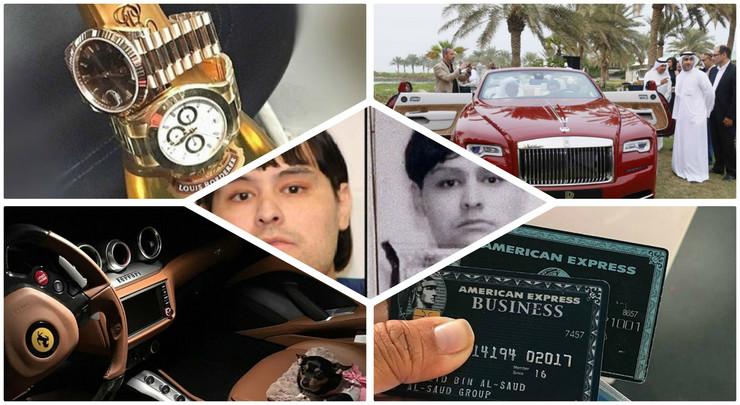 Lažni princ, hapšenje, slanina, Dubai