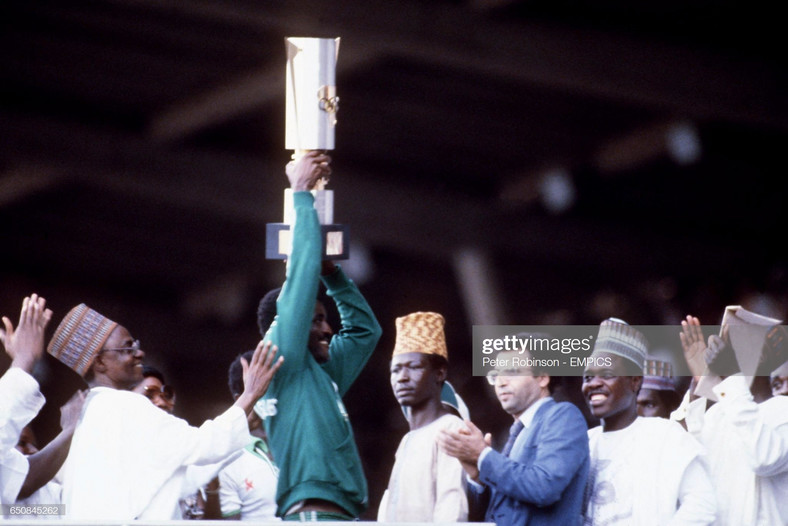 Christian Chukwu was captain when Nigeria won their first AFCON title in 1980 (Peter Robinson/EMPICS via Getty Images)