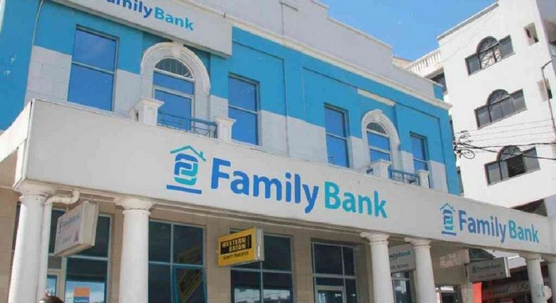 A Family Bank branch in Mombasa
