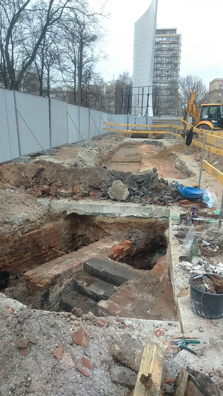Znaleziska archeologów przy ul. Wiejskiej