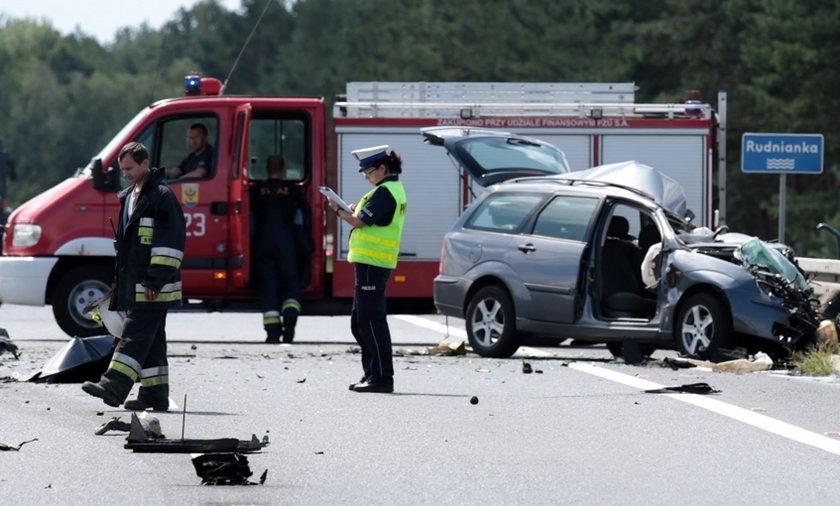 Śmiertelny wypadek na S3 pod Nową Solą