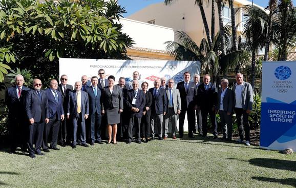 Delegati sa olimpijskog skupa u Španiji