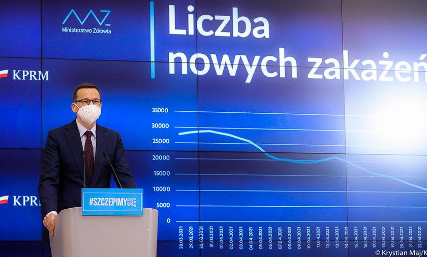 Na zdjęciu premier Mateusz Morawiecki.