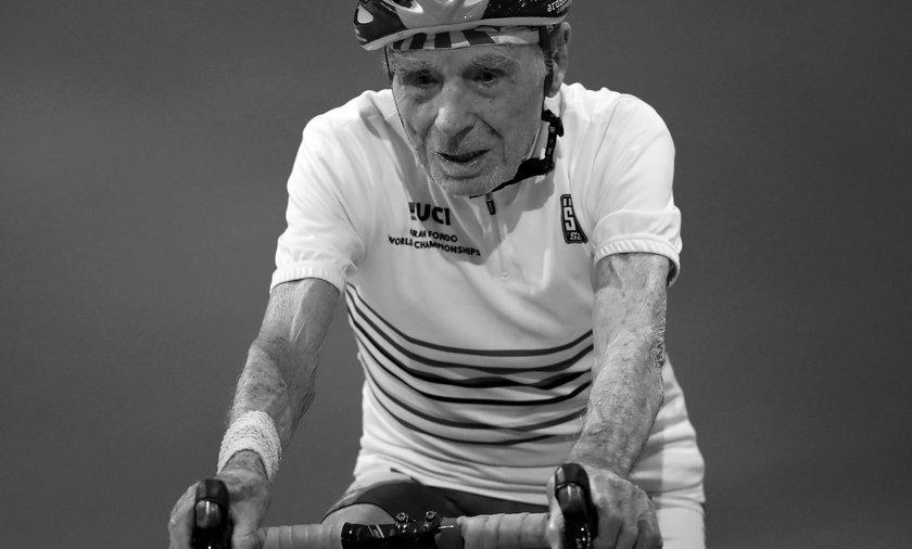 Nie żyje Robert Marchand. Nestor kolarstwa zmarł w wieku 109 lat