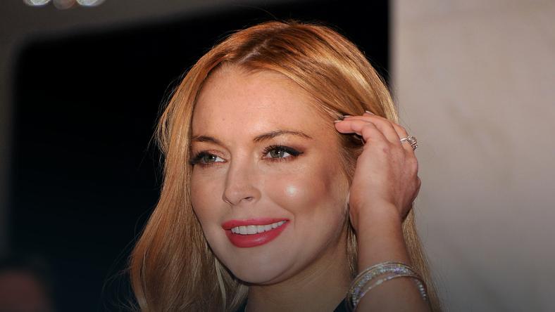 Lindsay Lohan w końcu w dobrym humorze