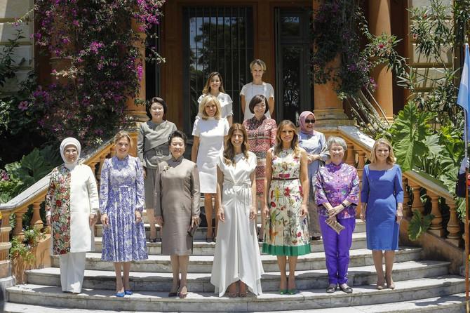 Melanija sa suprugama svetskih lidera 1018. u Argentini