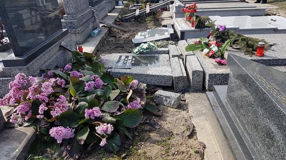 Užas u Somboru: Vandali pravili haos po groblju, srušili 15 spomenika