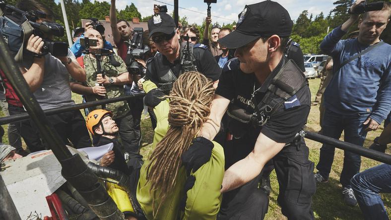 Interwencja policjantów rozpoczęła się po godz. 11