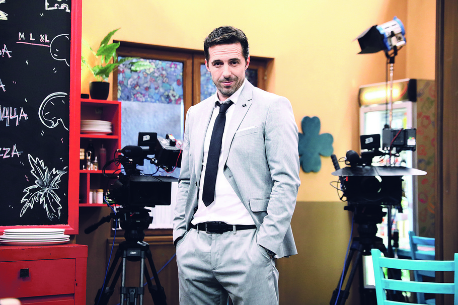 Sa snimanja serije