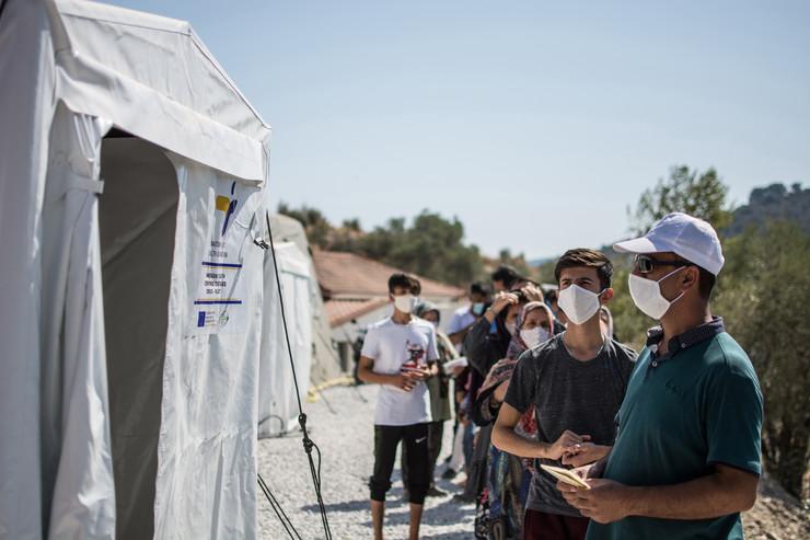Izbeglički kamp Morija na Lezbosu