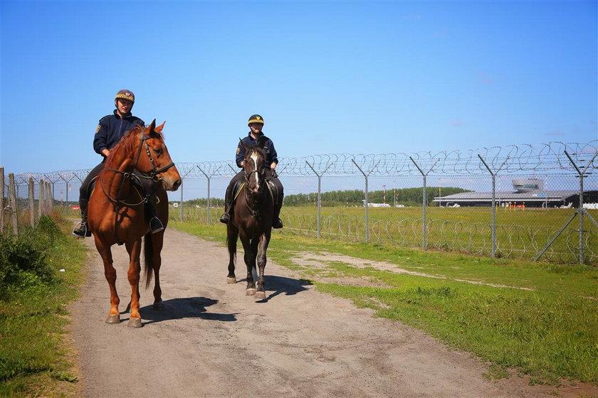 Straż miejska w Łodzi otwiera po raz kolejny letni konny posterunek na Lublinku