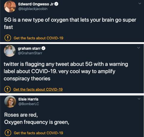 coronavirus 5g tweets labelled