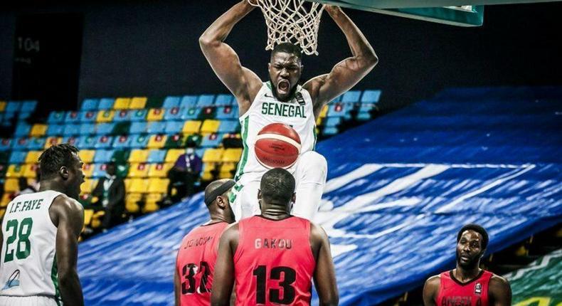 Le Senegal victorieux face à l'Angola