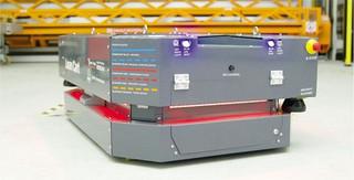 Innowacyjny robot AVG LeanCart