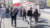 1-majowy pochód polskich bezdomnych i bezrobotnych