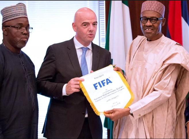 President Muhammadu Buhari has been of immense help to the NFF according to , Amaju Pinnick
