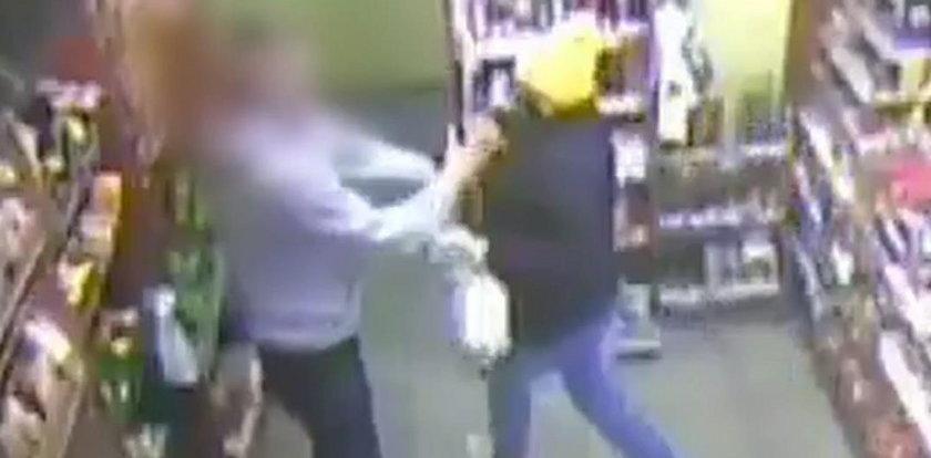 Jak murarz pokonał złodziejkę z pistoletem