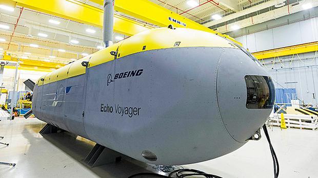 Boeing Echo Voyager, jeden z bezzałogowych okrętów podwodnych firmy Boeing