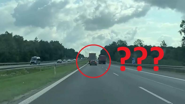 Na autostradzie A4 policja kontrolowała przestrzeganie zakazu wyprzedzania przez samochody ciężarowe