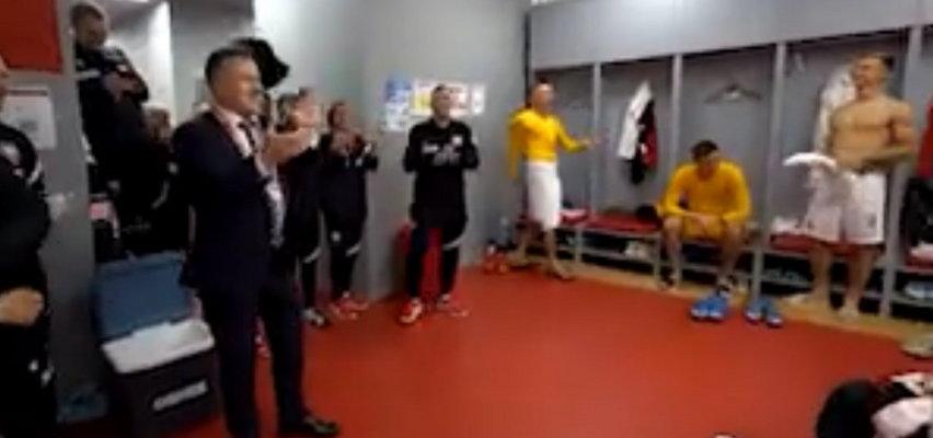 Ujawniono nagranie z szatni Polaków po zwycięstwie nad Albanią. Co tam się działo! [WIDEO]