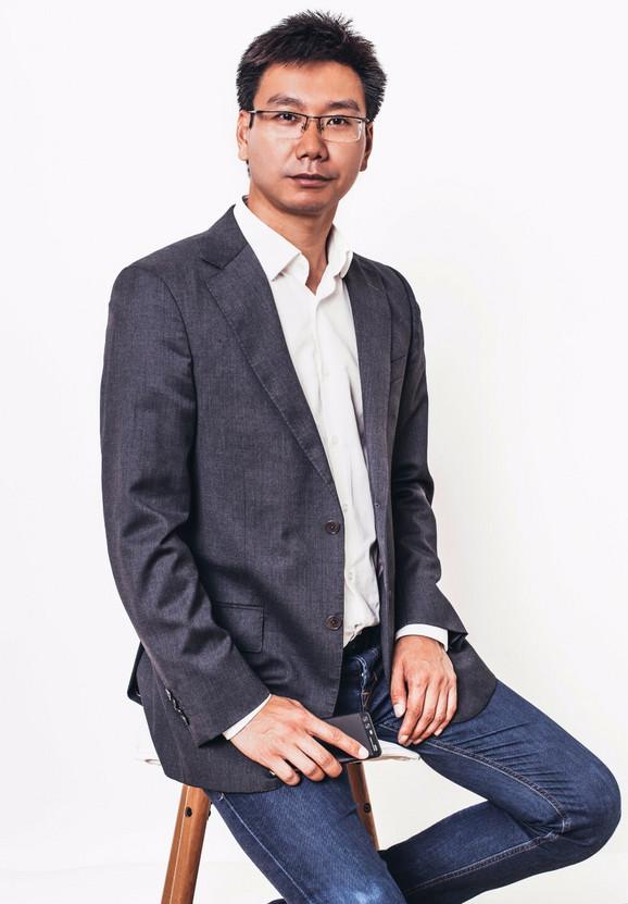 Džeki Zao, direktor Huavej Srbija