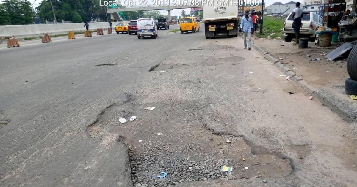 Infrastructure: Lagos APC tweets image of