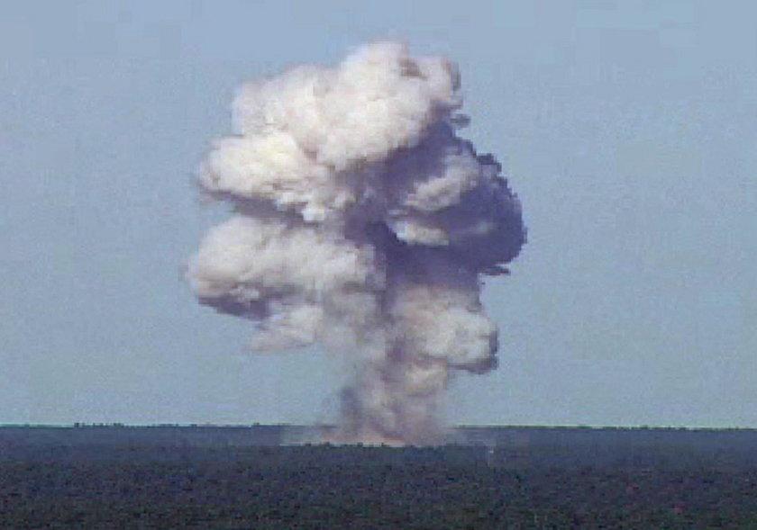 """Tak wyglądał atak """"matką wszystkich bomb"""". Pentagon pokazał film"""