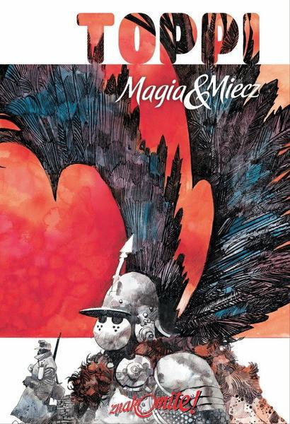 """""""Magia i miecz"""" (okładka komiksu)"""