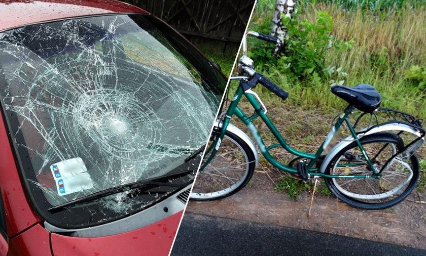 Tragedia w Somiance. Mężczyzna potrącił kobietę i odjechał. Jego ciało znaleziono w garażu.