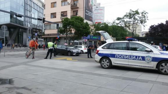 Policija izvršava uviđaj