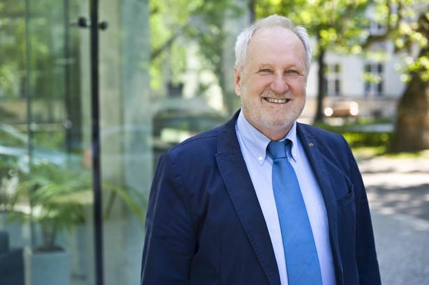Jerzy Duszyński - profesor nauk biologicznych, prezes Polskiej Akademii Nauk