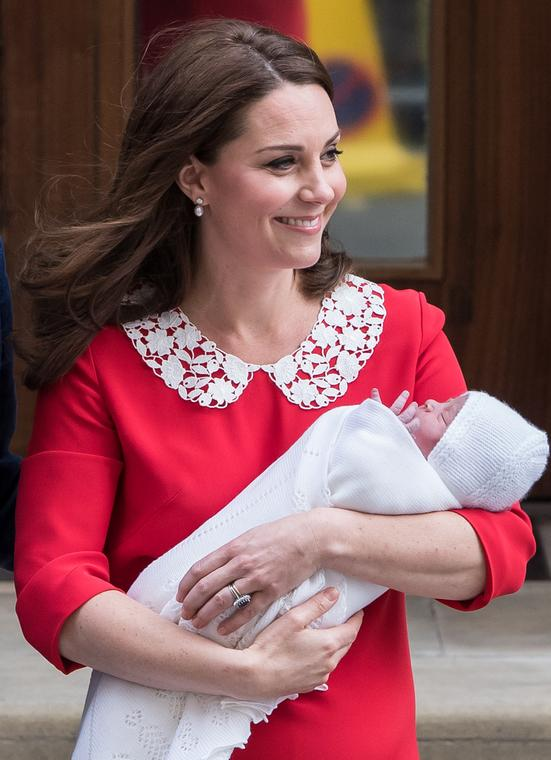 Kate Middleton i książę Louis