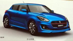 Nowa generacja Suzuki Swift z broszury reklamowej