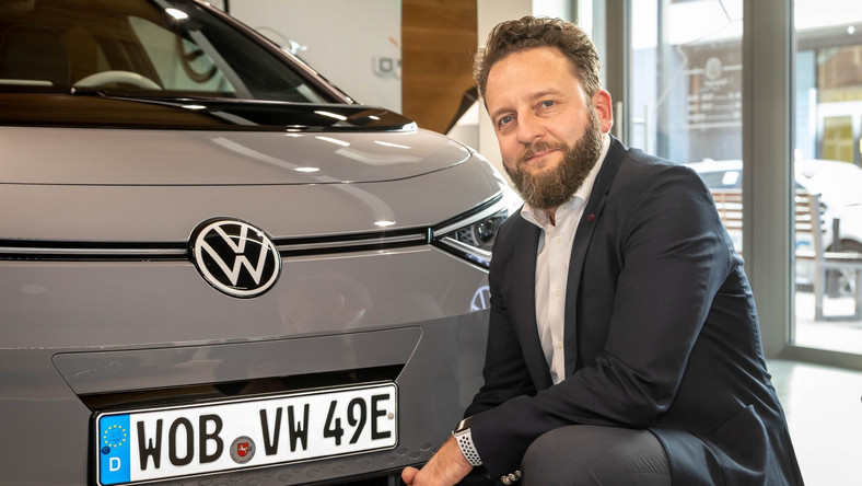 Łukasz Zadworny, dyrektor marki Volkswagen