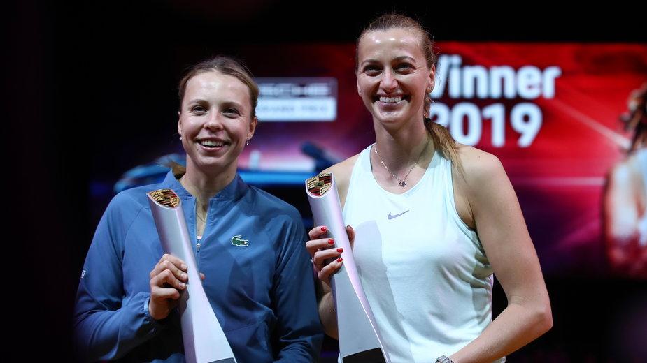 Anett Kontaveit i Petra Kvitova