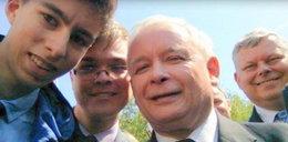 Zobacz selfie Kaczyńskiego