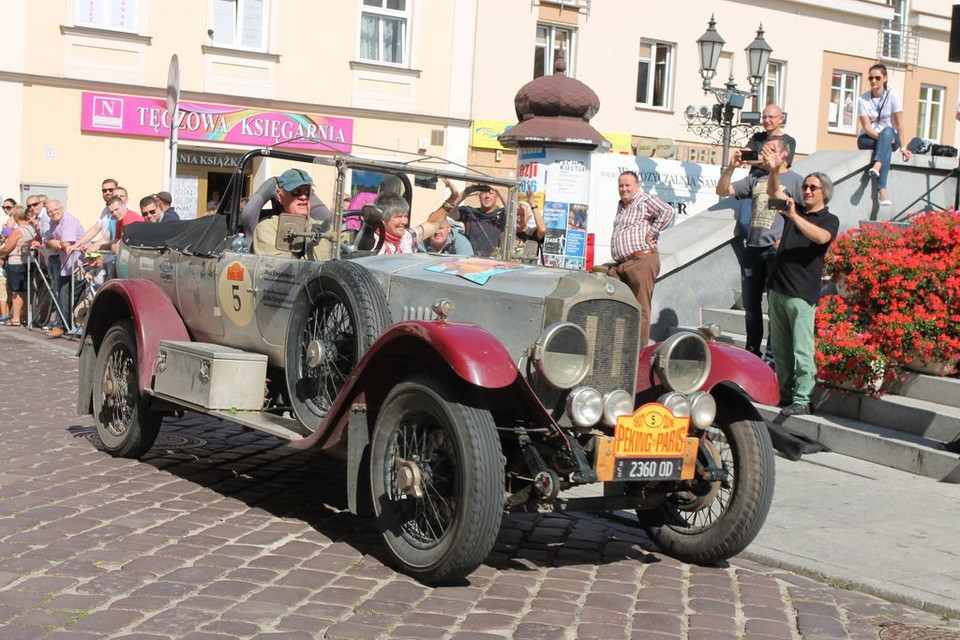 6th Peking to Paris Motor Challenge 2016