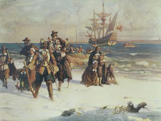 Landing Of The Pilgrims